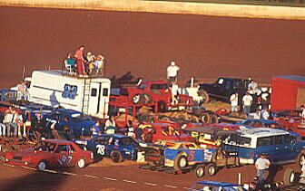 Douglas Co Ga Seven Flags Infield 5/20/95. Photo by Roy Burke