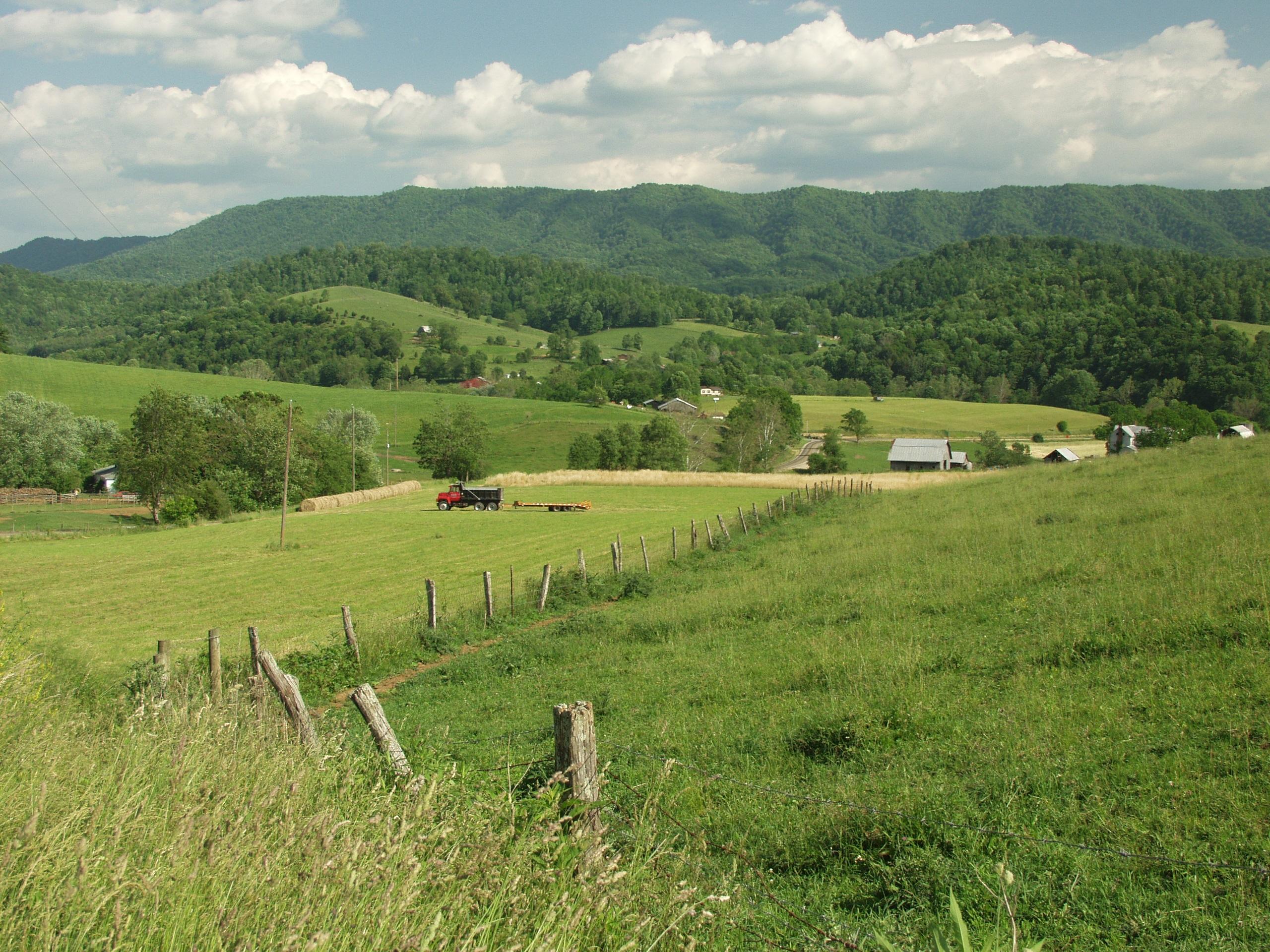 Farm, Smyth County Virginia 02, 2006 vacation